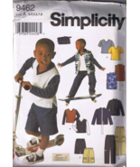 Simplicity 9462 - Boy's Pants, Vest, Jacket, Kn... - $5.00