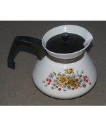 Vintage Corning Ware 6 Cup Teapot RARE Bantry P... - $48.00