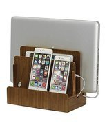 G.U.S. Walnut Multi-Device Charging Station and... - $49.49