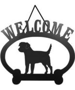 Welcome Sign - Border Terrier - $24.74