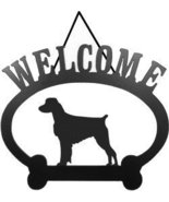 Welcome Sign - Brittany Spaniel - $24.74