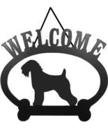 Welcome Sign - Wheaten Terrier - $24.74
