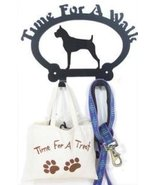 Dog Leash Hook - Boxer (Time for a Walk) - $24.74