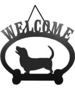 Welcome Sign - Basset Hound - $24.74