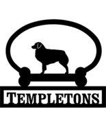 Australian Shepherd Custom House Sign One Line - $98.99