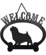 Norfolk Terrier Dog Welcome Sign - $24.74