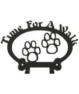 Dog Leash Hook - Paw Prints (Time for a Walk) - $24.74