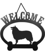 Welcome Sign - Rough Collie - $24.74