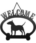 Welcome Sign - Bull Terrier - $24.74