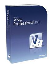 Microsoft Visio Professional 2010 Full Software... - $61.99