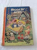 Raggedy Ann in the Magic Book HC Gruelle 1939 J... - $13.10
