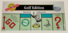New Sealed Monopoly Golf USAopoly Authorized Ed... - $12.90