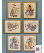 Angels Cross Stitch Patterns Candyland Guardian... - $4.99