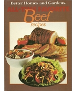 All Time Favorite Beef Recipes Better Homes and... - $4.99