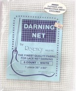 Regency Mills Darning Net 6 Count White 36