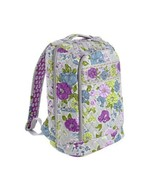New Vera Bradley Large Laptop Backpack Watercol... - $89.09