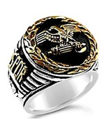 Roman Tribune Eagle mens signet ring    Sterlin... - $102.00