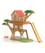 Calico Critters Adventure TREE HOUSE With Slide... - $69.95