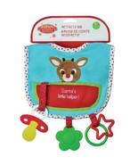 Rudolph Plush BABY'S 1ST CHRISTMAS ACTIVITY BIB... - $13.99