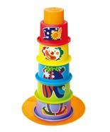 Playgo CLOWN 6 IN 1 STACK & SORT LEARNING CUPS ... - $11.88