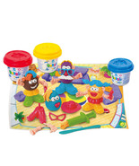 Playgo PLAY DOUGH FUNNY FAMILY (3 Colors of Pla... - $13.41