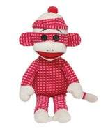 Ty Beanie Buddies 16'' Plush PINK Quilted SOCK ... - $11.79