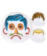 Fred & Friends DINNER DO'S Kid's 3 BOYS Plates ... - $27.39