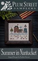 Summer In Nantucket cross stitch chart Plum Str... - $9.00