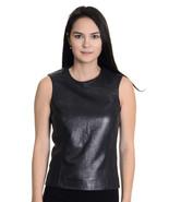 40/6 PRADA Dark Gray Butter Soft Leather Sleeve... - $210.38