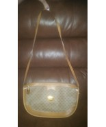 Vintage Signature Gucci Tan Brown Purse Hobo Sh... - $125.00