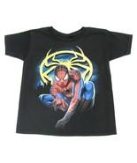 Black Disney Marvel Spiderman Shirt Boys Size X... - $12.99