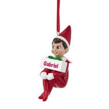 Department 56 Elf on The Shelf Gabriel Ornament... - $14.79
