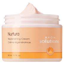 Avon Solutions Nurtura Replenishing Cream 1.7 f... - $2.49