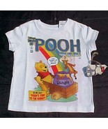 Disney Winnie the Pooh Rainbow Shirt NWT Girls ... - $14.99