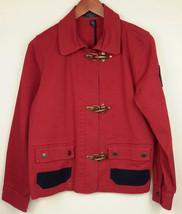 Lauren Ralph Lauren Red Nautical Style Jacket S... - $59.95