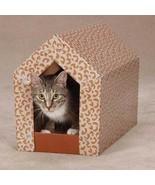 Cat Scratching Shack - Cardboard & Catnip Hidin... - $19.70