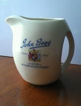 Vintage John Begg Blended Scotch Whiskey Pitcher - $19.79