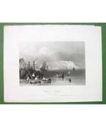 CANADA Citadel of Kingston - 1841 Engraving Pri... - $8.41