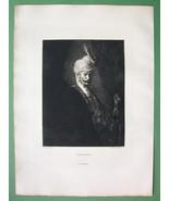 ORIGINAL ETCHING Print - Moorish Chief by Ferdi... - $28.61