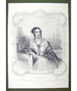 QUEEN VICTORIA Court Beauty The Countess of Mal... - $43.56
