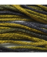 Graveyard Lichen 6 strand hand dyed embroidery ... - $2.00
