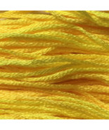Jill's Lemon Drink 6 strand hand dyed embroider... - $2.00