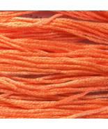Sharrin's Peachh 6 strand hand dyed embroidery ... - $2.00