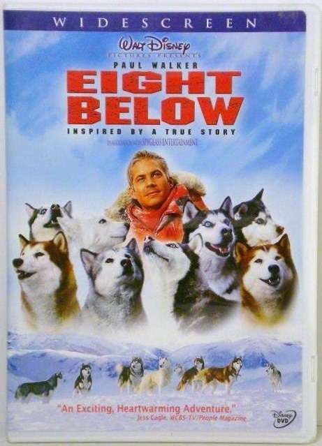 Disney's Eight Below Widescreen DVD movie 2006