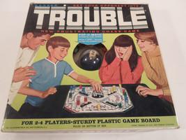 Vintage 1965 Board Game - Trouble - Kohner Bros... - $25.00