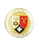 Dental Assistant Lapel Pin Caduceus Cross Gradu... - $11.97