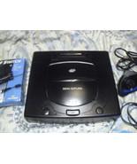 Sega Saturn Black Console (NTSC)w/  6 games mas... - $128.69