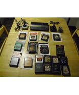 atari 2600 rainbow mini system with 17 games co... - $128.69