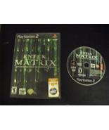Enter the Matrix  (Sony PlayStation 2, 2003) - $9.89