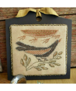 Sunbird Candle Board cross stitch chart Threadw... - $9.00